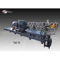 Wholesale Strand Pelletizing Twin Screw Extruder , PE Pelletizing Machine 75mm Screw Diameter from china suppliers
