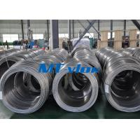 China ASTM A269 TP316L Stainless Steel Coiled Tube For Instrument on sale