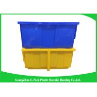 Wholesale Light Stackable Industrial Storage Bins , Product Protection Stackable Storage Boxes from china suppliers