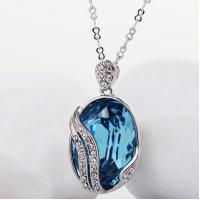 China Ref No.: 105043 Mysterious gem mothers day necklace with birthstones jewellery designs early jewelry on sale