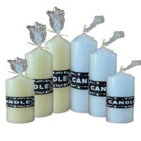 Wholesale White Church Pillar Candles from china suppliers
