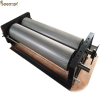 Wholesale Apiculture Beeswax Embossing Machine Aluminium Alloy Comb Foundation Machinery from china suppliers
