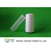 Wholesale Raw White Polyester Sewing Thread yarn , 30/2 High Twist Yarn AAA Grade Virgin Bright from china suppliers