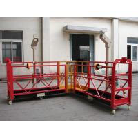 Wholesale 90 Degree Red Steel Rope Suspended Platform Cardle for Building Cleaning from china suppliers