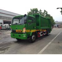 Wholesale 4x2 6001 - 10000L Garbage Compactor Truck Special Purpose Truck Diesel Fuel Type from china suppliers