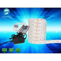 China Epistar chip high bright DC12V 24V 5050 60leds/m flexible led strip light wholesale