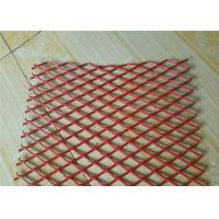 Quality Colorful Expanded Stainless Steel Mesh with Firm Structure Diamond Hole for sale