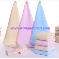 Wholesale Best decorative luxury yellow monogram hand towel wholesale from china suppliers