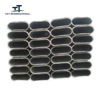 Wholesale Curtain Wall Oval Steel Tubing Simple Structure OD 50mm X10mm  28mm X70mm from china suppliers
