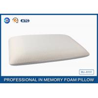 China 75*45 Traditional Shape Memory Foam Pillow with Cooling Gel Pad - air circulate treatment wholesale