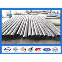 Wholesale 25FT 30FT 35FT 40FT Octagonal Galvanized Steel Power Pole for 500KGF Design Load from china suppliers