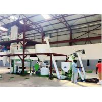 Buy cheap Cattle / Horse Poultry Feed Manufacturing Machine 1 - 2 T/H Capacity from wholesalers