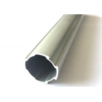 Wholesale Linear Slide D28mm Lean Tube Aluminium Extrusion Profiles With Flat Side from china suppliers