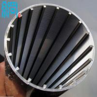 Wholesale Factory ISO9001 Stainless Steel V shaped Wire Wrapped Screen from china suppliers