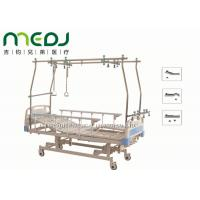 3 Functions Manual Hospital Bed , MJSD05-04 Therapy Orthopedic Traction Bed