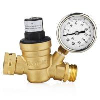 Wholesale Low Pressure Oxygen Concentrator Parts Water Adjustable Brass Pressure Adjust Valve from china suppliers