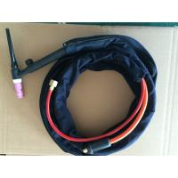 Wholesale TIG Tungsten Argon Arc air cooled welding torch WP-17 with valve and flexible swan neck from china suppliers