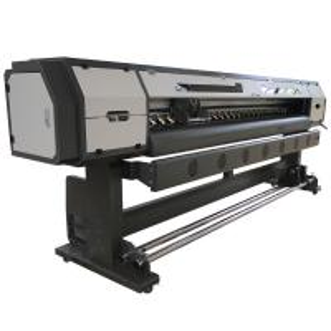 Hi - Pri 2.5M  Epson 5Th Generation Solvent Inkjet Printer 35 Square Meter / Hour