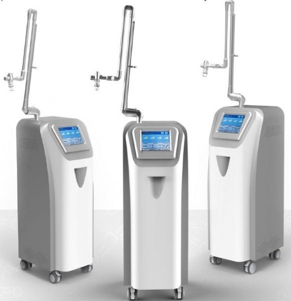 Metal Rf Tube Medical Fractional Co2 Laser System 30w