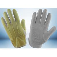 Wholesale Ladies Cycling Cotton Work Gloves Interlock Finger Design 23 - 27g Per Pair from china suppliers