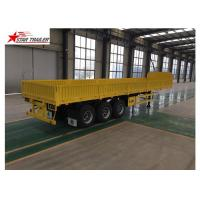 Wholesale High Strength Front Load Trailer 50T Max Payload High - Tensile Steel Material from china suppliers