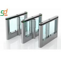 Wholesale Customized Automatic Turnstiles IR Sensor Fast Speed Swing Barrier Gates from china suppliers