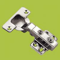 Quality free samples cabinet hardware cold-rolled steel hinge with Nickel finish for sale