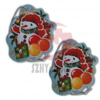 Wholesale Personalize Cotton And Silk-Screen With Various Shape Paper Custom Air Fresheners For Car from china suppliers