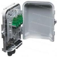 Wholesale 8-Port Wall or Pole Mountable Outdoor Waterproof plastic Fiber Optic Distribution Box from china suppliers