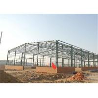 Quality Industrial Steel Construction Prefab Warehouse Building Q235 / Q345 Material for sale