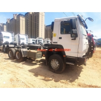 Wholesale Manual 10 Wheels 420hp 90# 50# Kingpin Tractor Truck from china suppliers