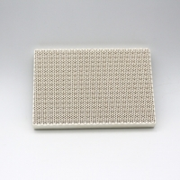 Wholesale nfrared Ceramic Plate for gas-fired stove Rectangle Cordierite infrared honeycomb ceramic plate for gas stove from china suppliers