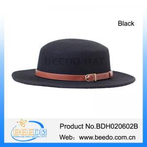 502352b2faf58d Buy cheap Hot selling western mens wool felt pork pie filzhut hat from  wholesalers