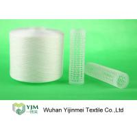 Strong TFO White Dyed Polyester Spun Yarn For High Speed Sewing Machine
