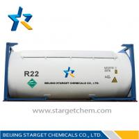 Wholesale R22 Refillable cylinder 1000L CHCLF2 R22 Refrigerant Replacement / chlorodifluoromethane from china suppliers