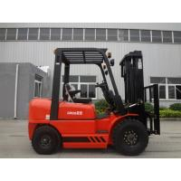Wholesale Energy Saving Double / Triple Mast Forklift , 2.5 Ton Four Wheel Drive Forklift from china suppliers