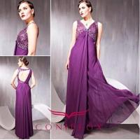 Wholesale empire purple cocktail dresses, purple elegant cocktail dresses from china suppliers