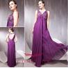 Buy cheap empire purple cocktail dresses, purple elegant cocktail dresses from wholesalers