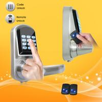Wholesale High Sensitivity Smart Digital Door Lock , Remote Electronic Door Locks For Homes from china suppliers
