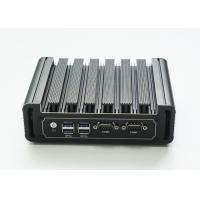 Buy cheap Intel I7-7500U Dual Core Industrial Micro PC 6 USB 2 Ethernet Port 2 COM RS232 from wholesalers