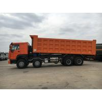 Wholesale High Loading Capacity 12 Wheeler Dump Truck With Safety Hydraulic Control System from china suppliers
