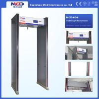 Wholesale Waterproof Portable Door frame Walk Through Metal Detector , 6 Zones Archway Detector Door from china suppliers