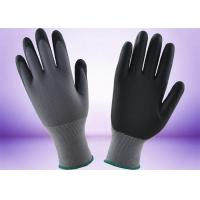 Wholesale Full Micro Foam Nitrile Coated Gloves Safety Working Customer Design Logo from china suppliers