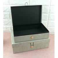 Wholesale Luxury Rigid Cardboard Custom Printed Jewelry Boxes , Jewelry Gift Boxes With Closure from china suppliers