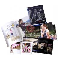 Buy cheap Spot UV, embossing, silver Customized Colour Brochure Printing with Spiral, from wholesalers