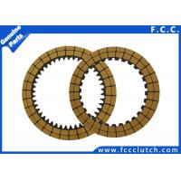 China Automatic Transmission Friction Plates For Motorcycle Scooter ATV 3 Wheeler on sale