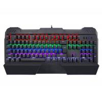 Durable AULA SI-2013 Colorful Pc Gamer Mechanical Keyboard 104 Keys