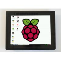 Embedded 15 Inch Resistive Touch Monitor , Raspberry Pi Touch Monitor Full Ports