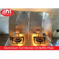 Wholesale Kitchen Aluminium Foil Products Oil Baffle Plate Natural Silver Surface Keep Kitchen Clean from china suppliers