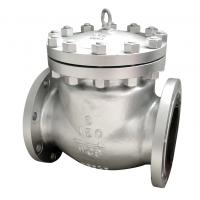 Wholesale bs1868 cast steel swing check valve,a216wcb body,HF hard face seat,6inch,RF,Class 150 from china suppliers